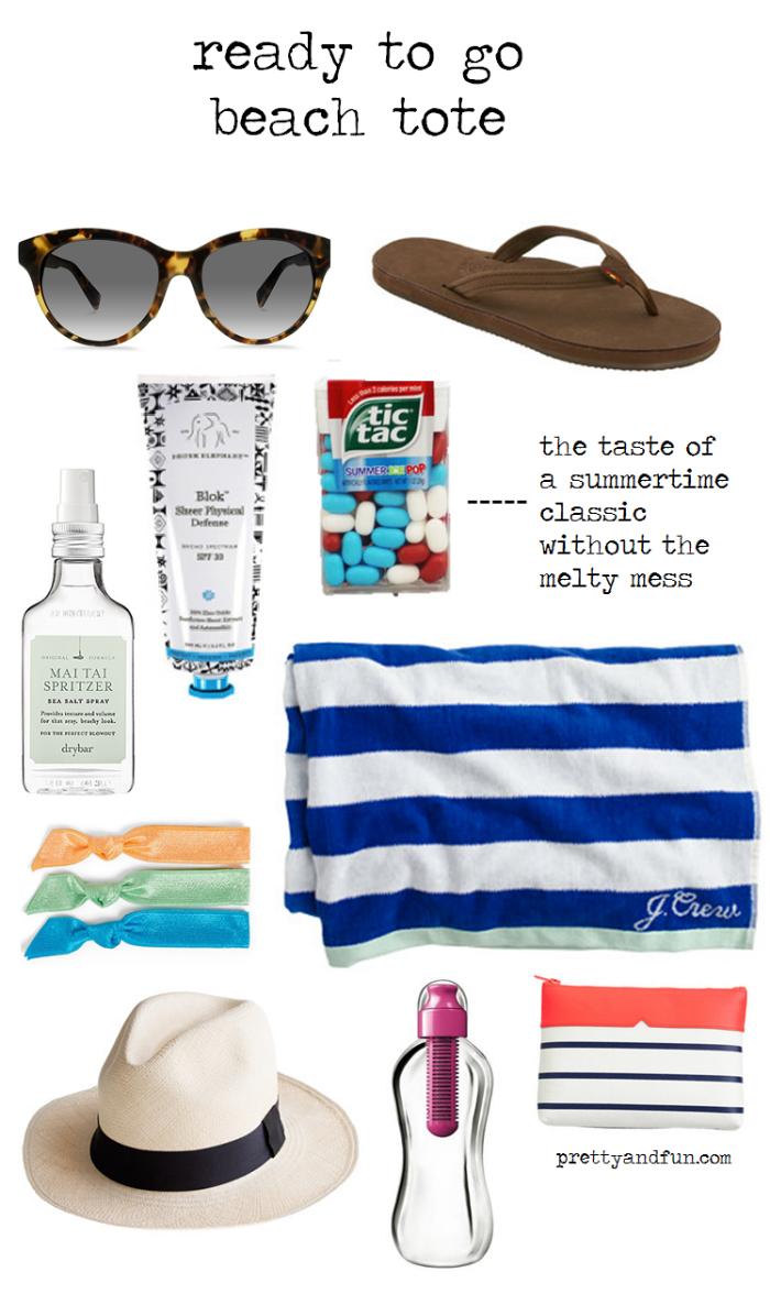 Beach Tote Essentials