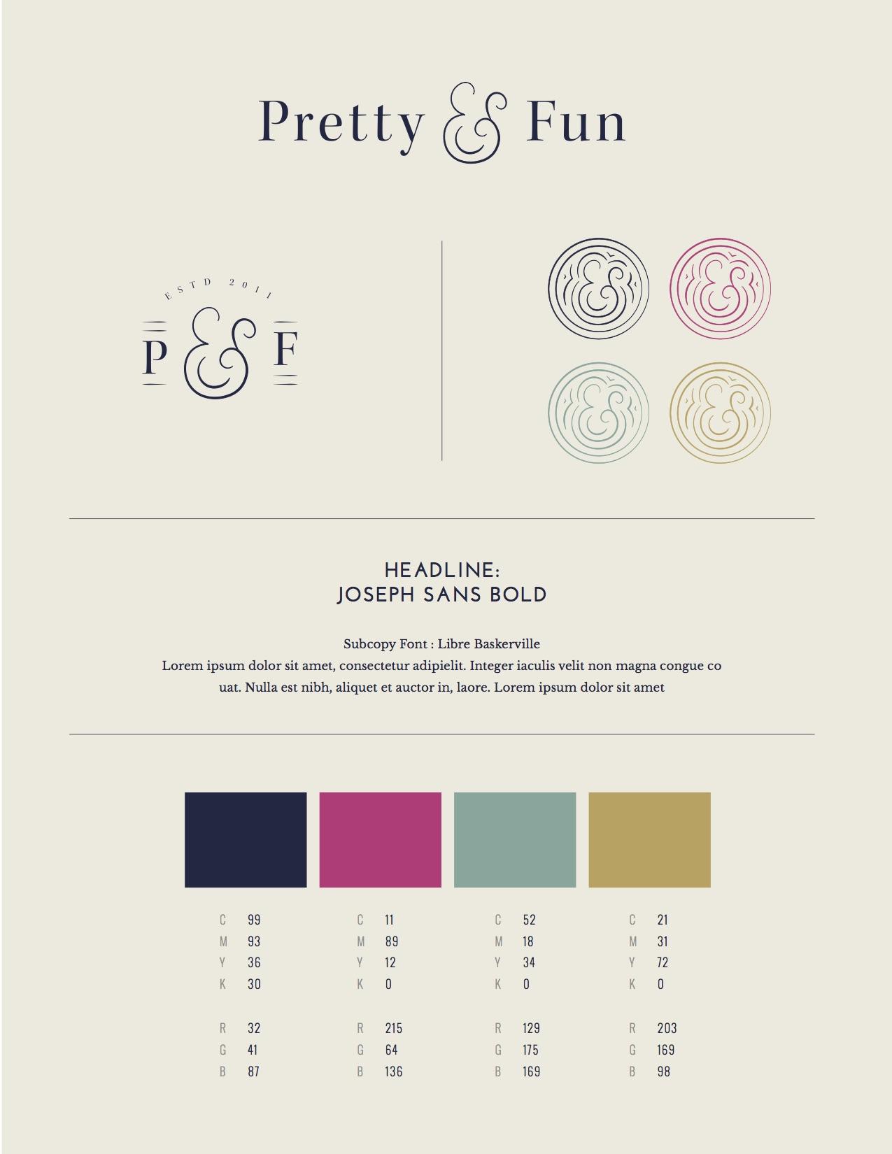 Pretty & Fun Style Sheet