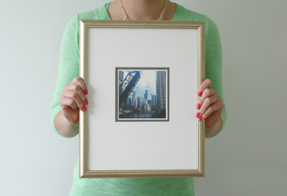 art made easy with framed & matted. - Pretty & Fun