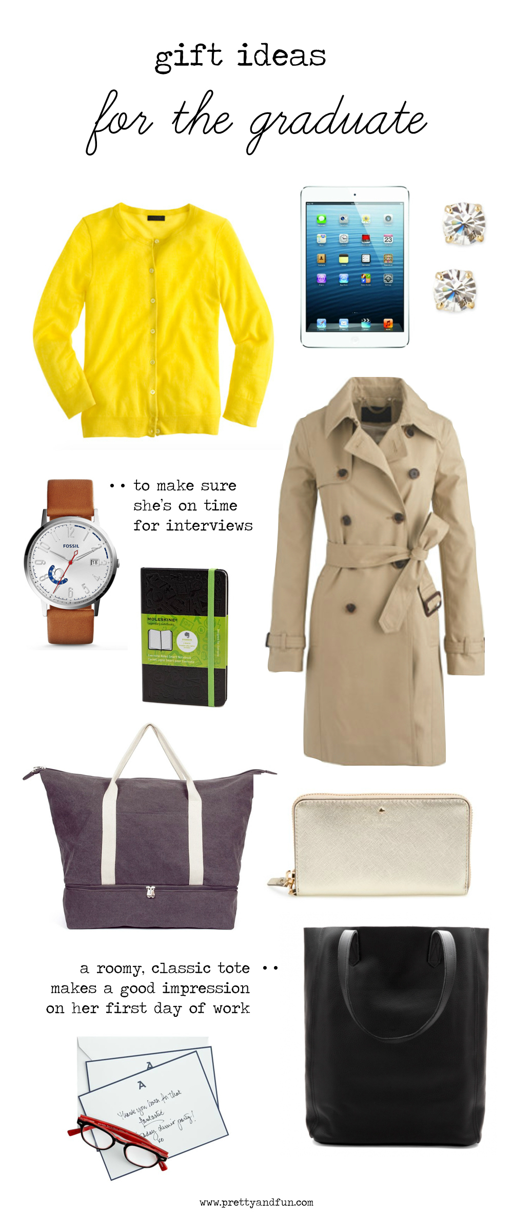 Gift Ideas for the Graduate.