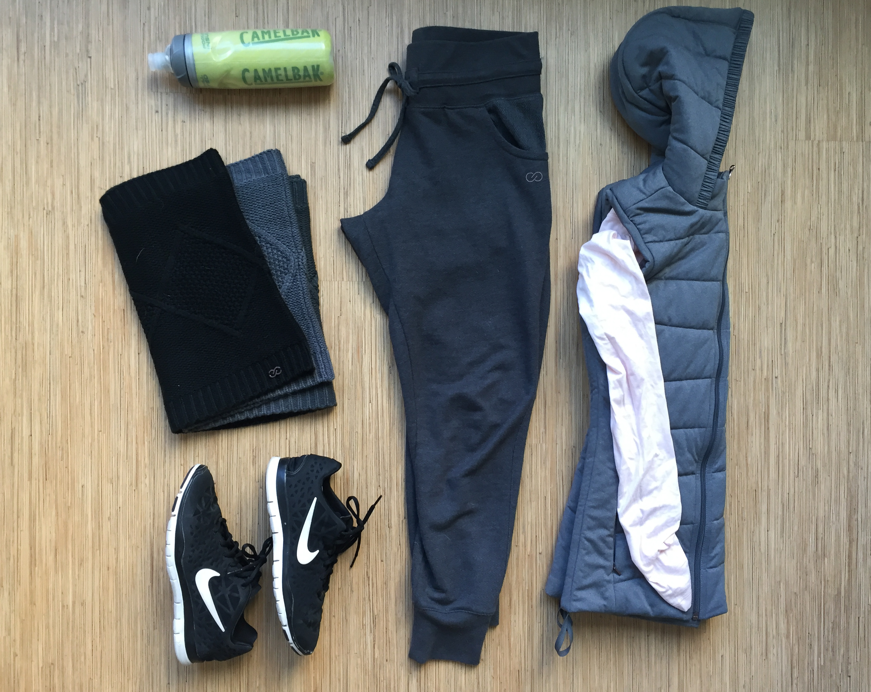 3 Post Winter Workout Essentials with CALIA by Carrie.