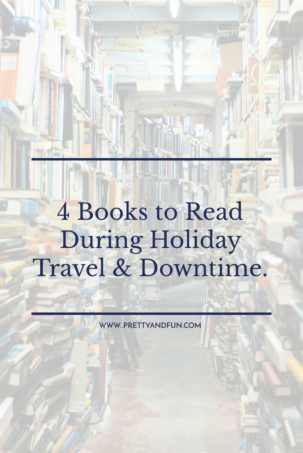 4 Books to Read During Holiday Travel & Downtime.