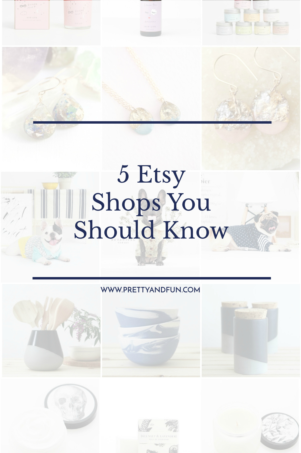 5 Etsy Shops You Should Know.