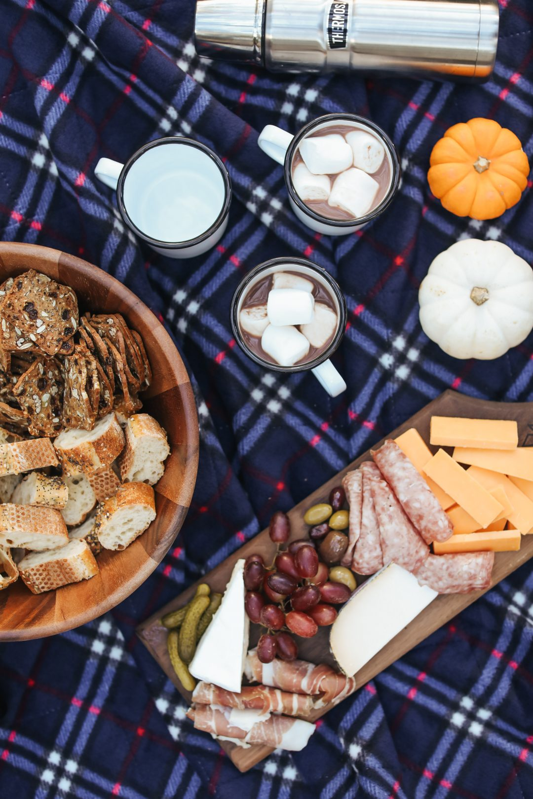 A Friendsgiving Picnic with Help from Uber.